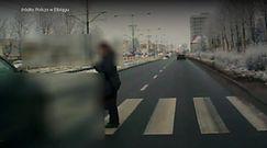 Niebezpieczna sytuacja na przejściu dla pieszych w Elblągu