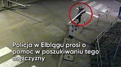 Policja poszukuje wandala z Elbląga
