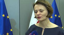 Emilewicz o krytykowaniu Kaczyńskiego: nie rozmawiamy dzisiaj o tym