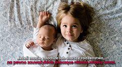 Dzieci urodzone jako drugie sprawiają więcej kłopotów — potwierdzają naukowcy