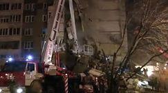 Runął pion budynku mieszkalnego w Rosji. Są zabici i ranni