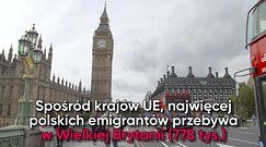 Emigracja wciąż rośnie. Ponad 2,5 mln Polaków za granicą