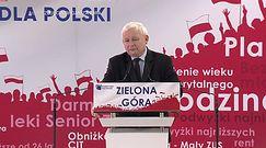 Zielona Góra. Jarosław Kaczyński na konwencji PiS: Musimy zachować swoją tożsamość