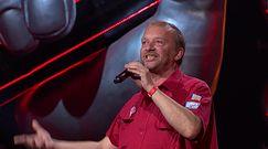 """""""The Voice of Poland"""". Pan Andrzej z widowni nową gwiazdą sieci? Jego występ obejrzały setki tysięcy widzów"""