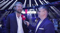 """""""Klatka po klatce"""" (on tour): KSW 50. Maciej Kawulski wyśmiał Gilesa. """"Jeśli chcesz pajacować, to powinieneś jechać do cyrku"""""""