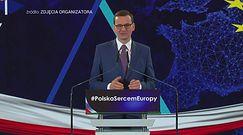 """Morawiecki odpowiada Marcronowi. Dostało się też """"Wyborczej"""""""