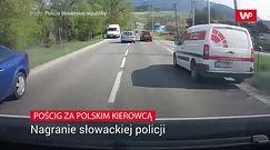 Kolejny pirat drogowy z Polski na Słowacji