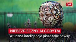 Sztuczna inteligencja pisze informacje