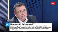 Michał Wójcik o partii Tadeusza Rydzyka. Stanowcza deklaracja
