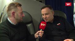 Andrzej Duda dla WP: czasem kupuję przez internet