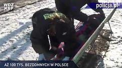 #dziejesiewpolsce: więcej bezdomnych