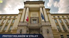 #dziejesiewpolsce: rolnicy znów protestowali w Warszawie