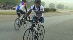 #dziejesiewsporcie: wielki wyczyn jednonogiego kolarza. Ukończył wyścig na 200 km