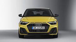 Miejskie Audi A1 na pierwszym filmie