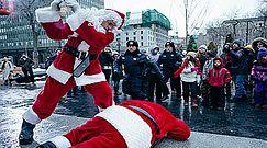 """Tylko u nas! """"Zły Mikołaj"""" po raz drugi w akcji"""