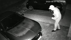 Kradzież na walizkę. Wystarczyła chwila, żeby złodzieje otworzyli nowego opla. Nagranie monitoringu