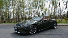 Lexus LC 500 Convertible - dla ludzi z Internetu
