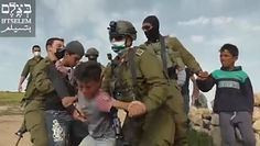 Izraelskie wojsko przeciwko dzieciom. Wstrząsające nagranie z granicy