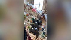 Wysypisko śmieci w mieszkaniu. Sąsiedzi nie mogli wytrzymać smrodu