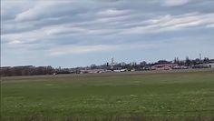 Poważny wypadek awionetki w Gliwicach. Wszystko nagrała kamera