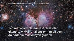 Tu rodzą się masywne gwiazdy. Spektakularne nagranie NASA
