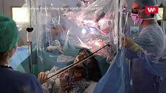 Na skrzypcach podczas operacji mózgu