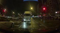 Pijany kierowca tira na ulicach Warszawy