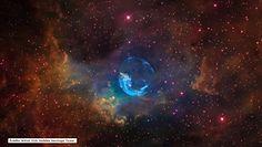 NASA opublikowała niezwykły obraz Mgławicy Bańka. Widok zapiera dech w piersiach