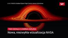 Tak działa czarna dziura. Teraz możemy to zobaczyć z bardzo bliska