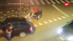 Obywatelskie zatrzymanie w Gliwicach. Nagranie monitoringu