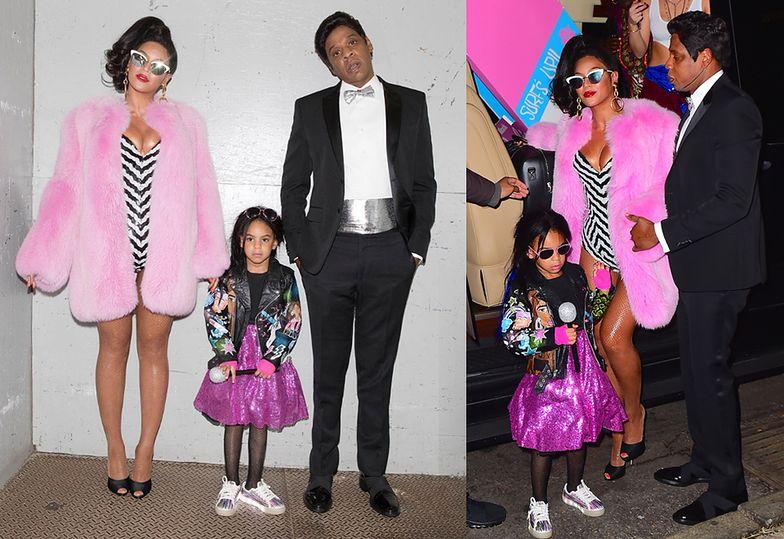 Beyonce i Jay-Z z Blue Ivy