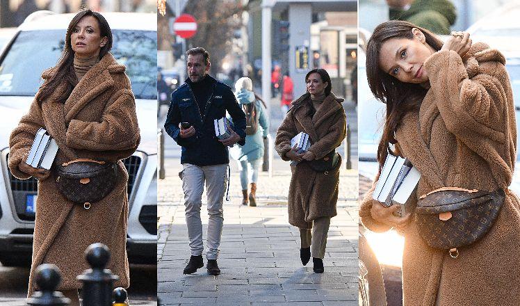 Kinga Rusin po raz kolejny zadała szyku w eleganckiej stylizacji
