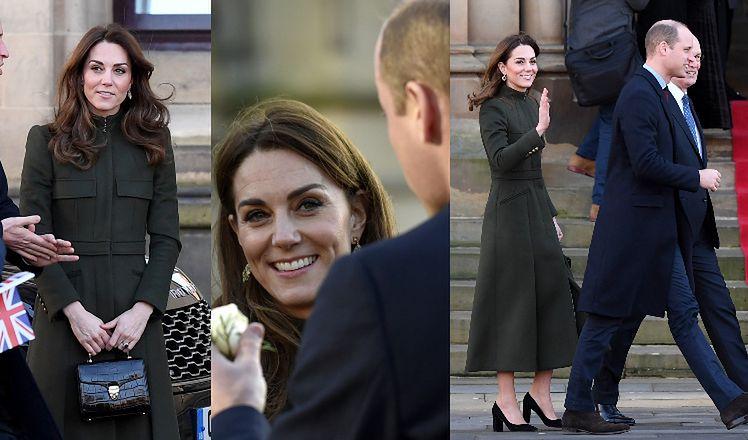Przyszły król i królowa Wielkiej Brytanii odwiedzili w środę Yorkshire