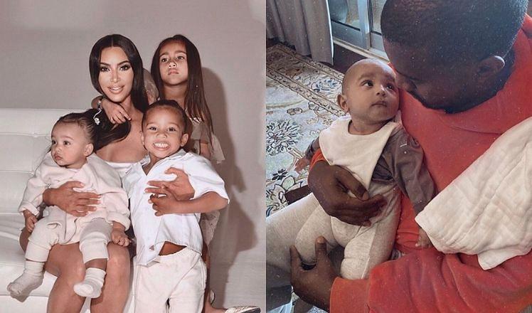 """Kim Kardashian dzieli się rodzinnymi zdjęciami z okazji Święta Dziękczynienia, wyznając na Instagramie: """"Jestem wdzięczna za moje dzieci"""""""