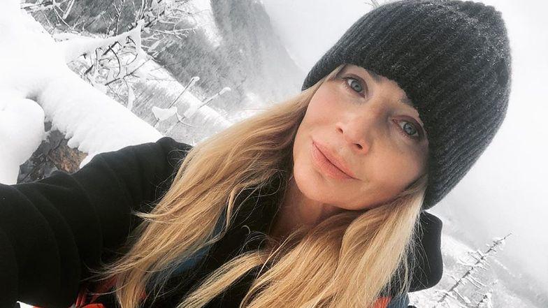 """Agnieszka Woźniak-Starak przesyła świąteczne życzenia z gór: """"Marzyłam o tym od kilku miesięcy"""" (FOTO)"""
