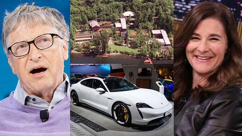 Domy, samochody, grunty, dzieła sztuki... - tym podzielą się przy rozwodzie Bill i Melinda Gatesowie!