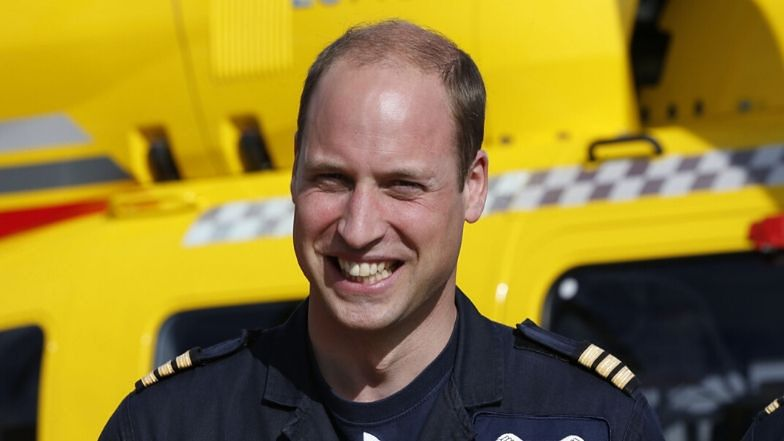 """Książę William osobiście stanie do walki z koronawirusem? """"Chciałby być PILOTEM HELIKOPTERA MEDYCZNEGO"""""""