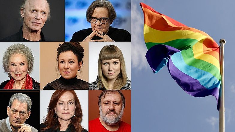 """Zagraniczne gwiazdy solidaryzują się ze środowiskiem LGBT w Polsce: """"Wzywamy Komisję Europejską do natychmiastowego podjęcia kroków"""""""