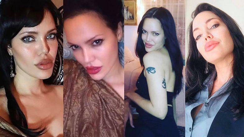 """Dualien Hernandez - """"sobowtórka"""" Angeliny Jolie z TikToka"""