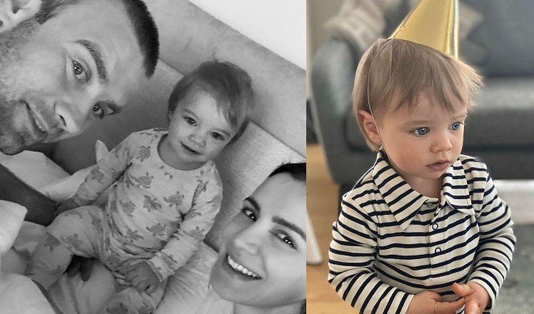 """Sara Mannei świętuje pierwsze urodziny synka. Fanka: """"Mały przystojniaczek! Będzie ŁAMAŁ KOBIECE SERCA"""" (FOTO)"""