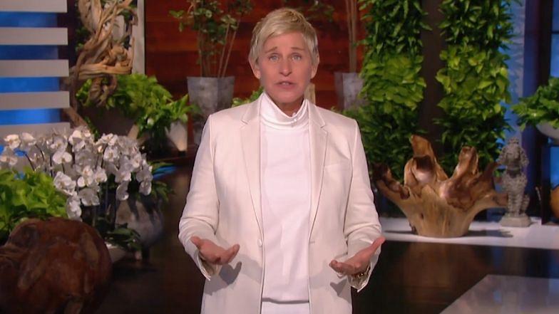 Ellen DeGeneres przeprasza za MOBBING na planie swojego show (WIDEO)
