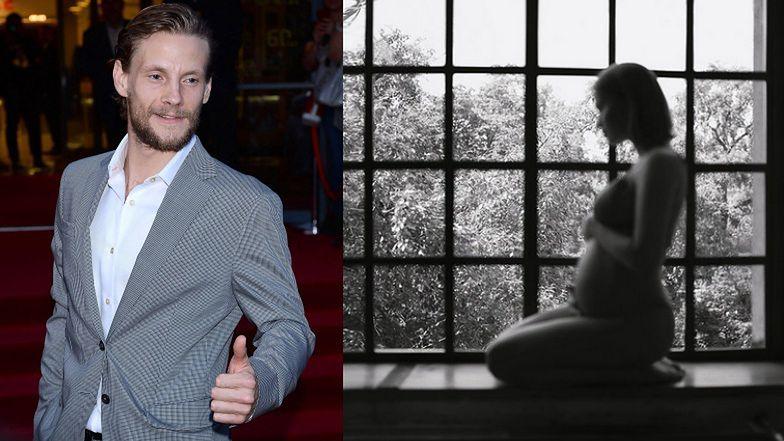 """Sebastian Fabijański chwali się CIĄŻOWĄ sesją Maffashion: """"ONI. MIŁOŚĆ"""". Sugeruje, że będzie syn? (FOTO)"""