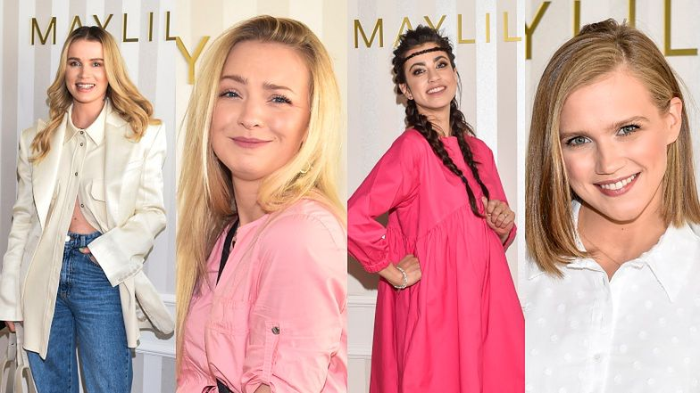 Znane mamy lansują się na ściance sklepu dla dzieci: Maffashion, Agnieszka Kaczorowska, Maja Hyży (ZDJĘCIA)