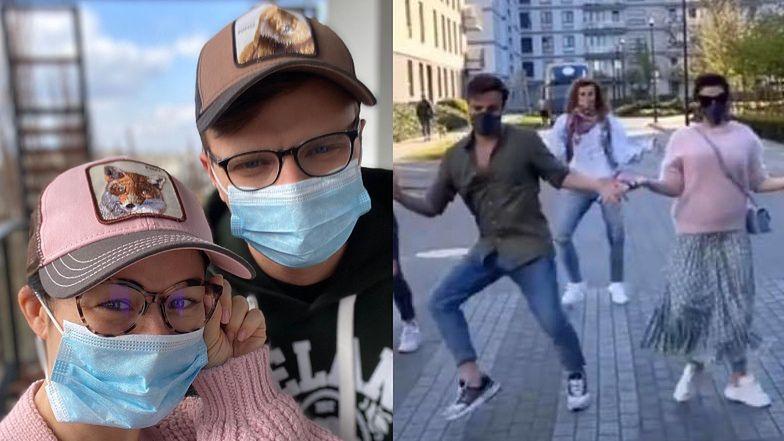 Kasia Cichopek i Marcin Hakiel świętują Międzynarodowy Dzień Tańca DZIKIMI HARCAMI na przejściu dla pieszych