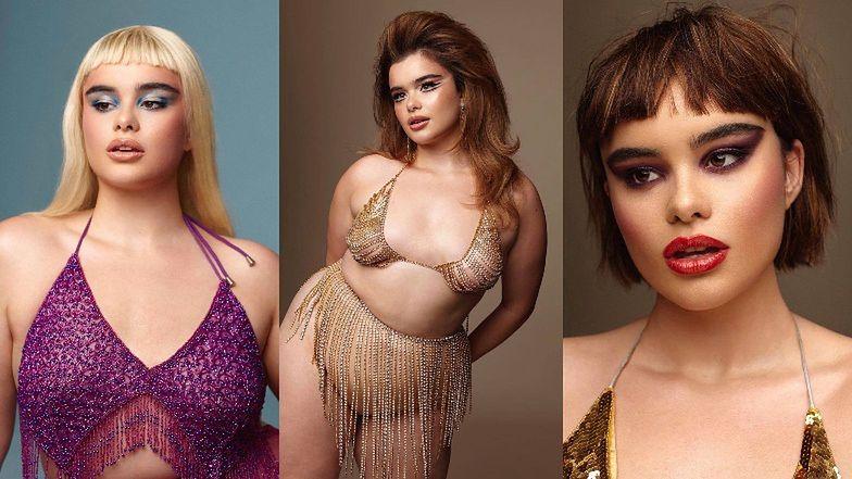 """Barbie Ferreira ucharakteryzowana na Lanę del Rey reklamuje kosmetyki z autorskiej kolekcji. Ma w sobie """"to coś""""? (ZDJĘCIA)"""