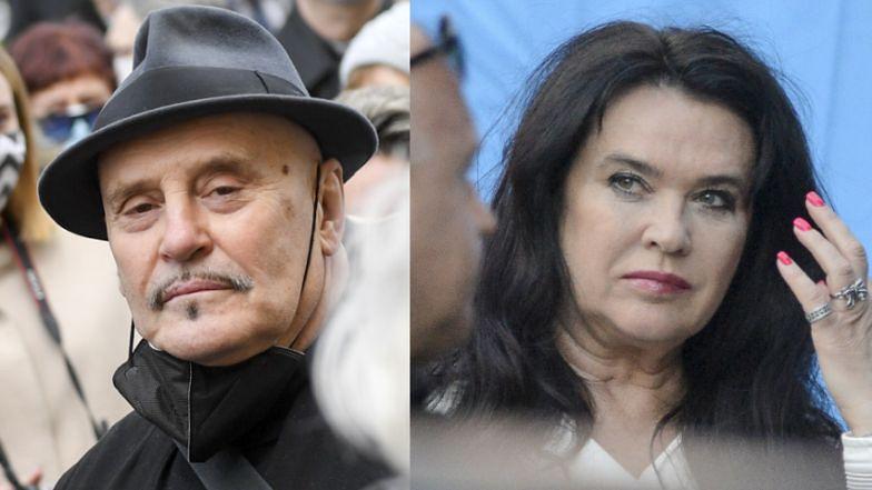 """Ewa Krawczyk apeluje do Mariana Lichtmana: """"Uszanuj naszą żałobę. Mój mąż mnie OSTRZEGAŁ PRZED TOBĄ"""""""