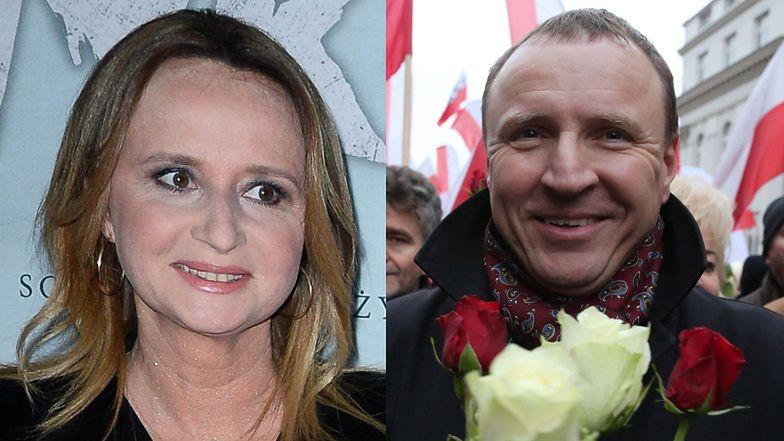 """Romantyczna Joanna Kurska komplementuje męża: """"Telewizja Polska pod jego kierownictwem stała się PRAWDZIWĄ MEDIALNĄ POTĘGĄ"""""""