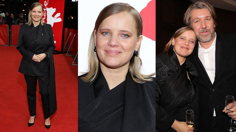Joanna Kulig podbija 70. edycję Berlinale w garniturze od Diora (FOTO)