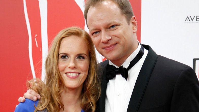 Żona Macieja Stuhra wspomina, jak na ich związek zareagowała córka aktora