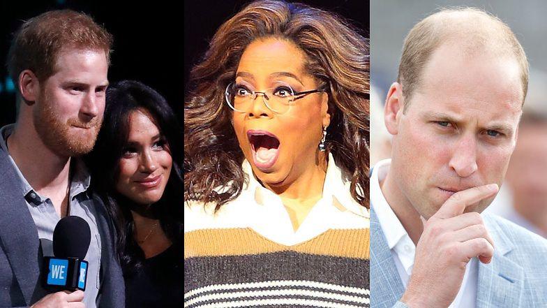 Książę William jest PRZERAŻONY wywiadem Oprah Winfrey z Harrym i Meghan Markle. Dziwicie się?